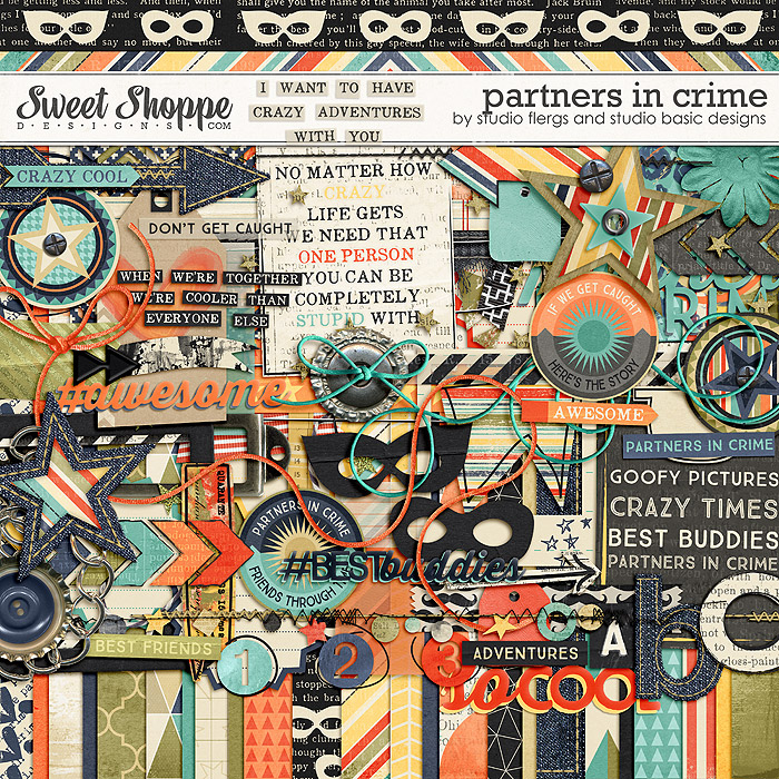 Partners in Crime by Studio Flergs & Studio Basic Designs
