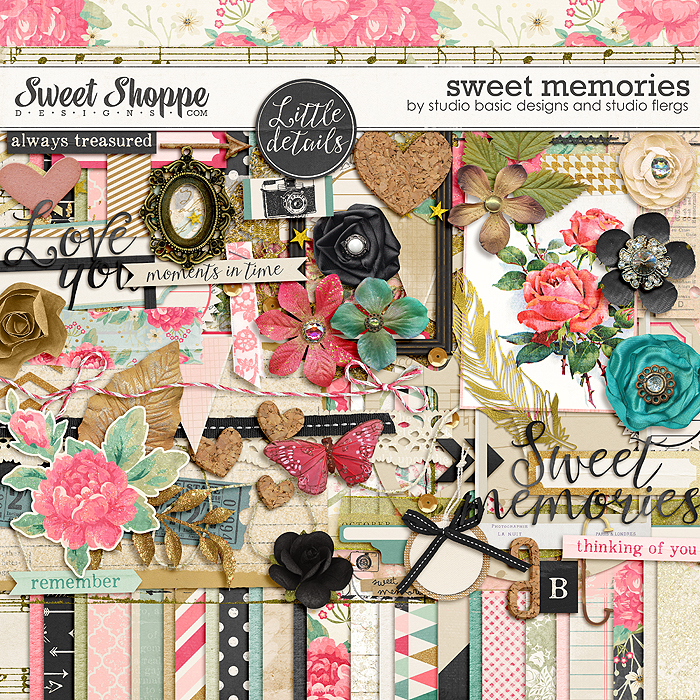 Sweet memories by Studio Flergs & Studio Basic Designs