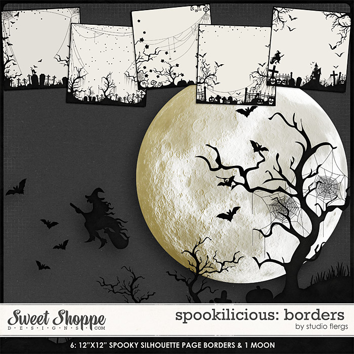 Spookilicious: BORDERS by Studio Flergs