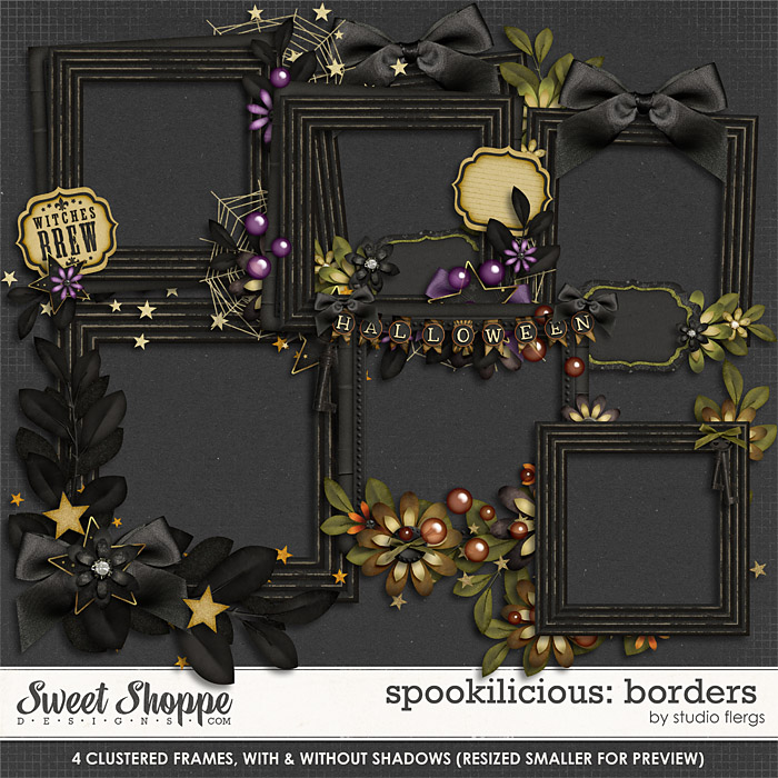 Spookilicious: FRAMES by Studio Flergs