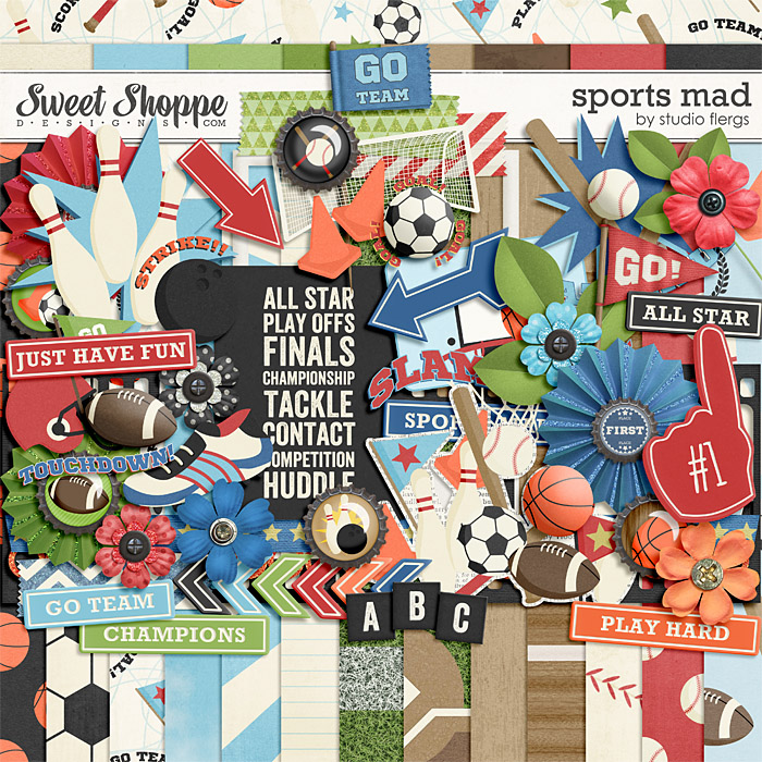 Sports Mad by Studio Flergs