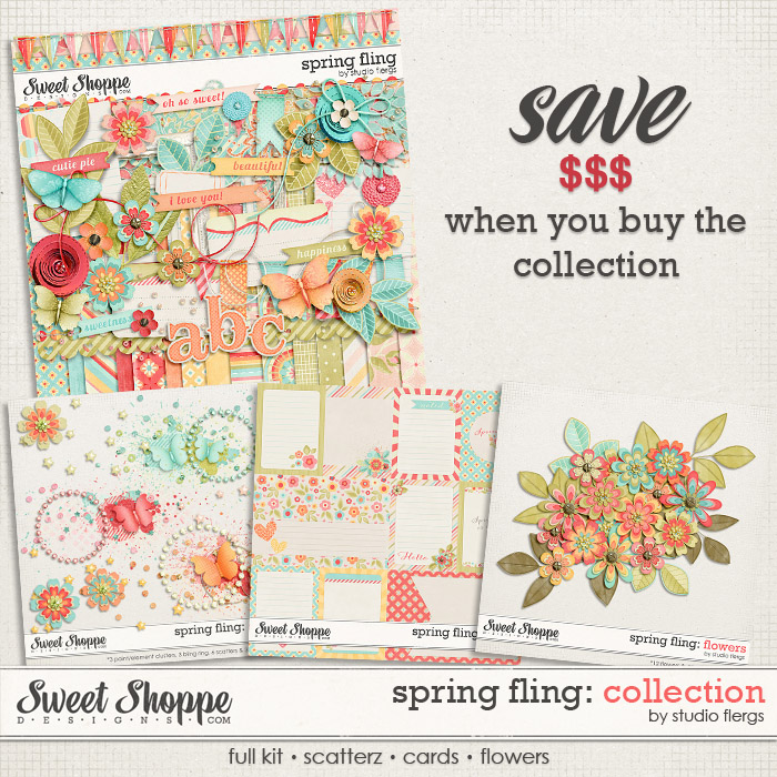 Spring Fling: COLLECTION by Studio Flergs