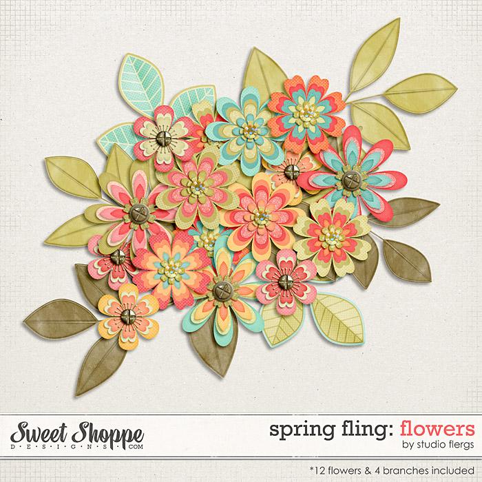 Spring Fling: FLOWERS by Studio Flergs
