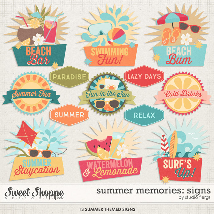 Summer Memories: SIGNS by Studio Flergs