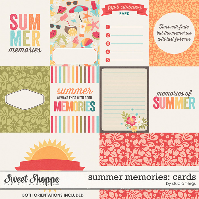 Summer Memories: CARDS by Studio Flergs