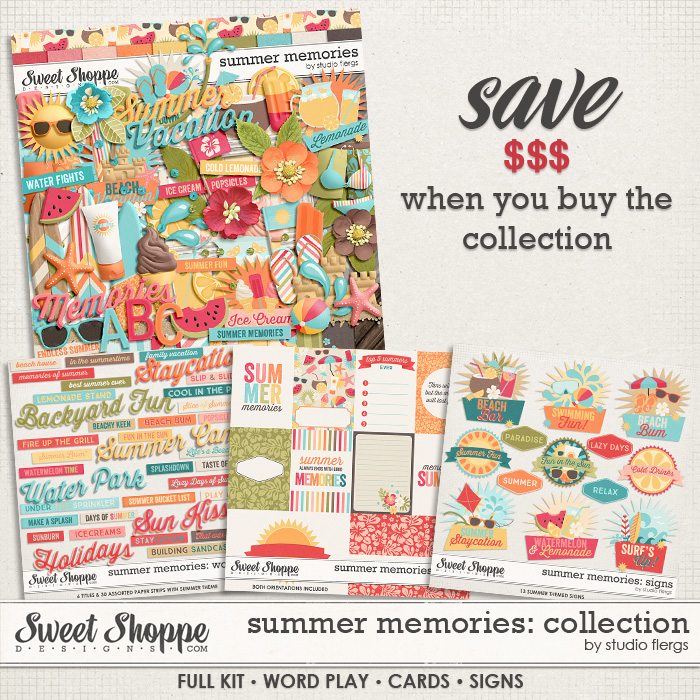 Summer Memories: COLLECTION by Studio Flergs