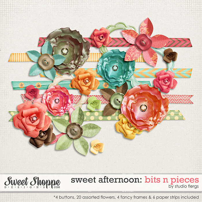 Sweet Afternoon: BIT & PIECES by Studio Flergs
