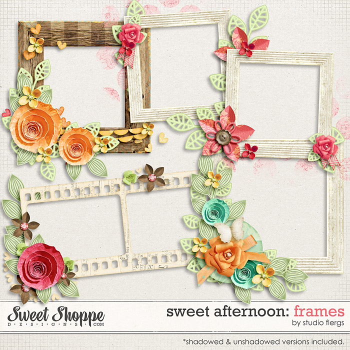 Sweet Afternoon: FRAMES by Studio Flergs