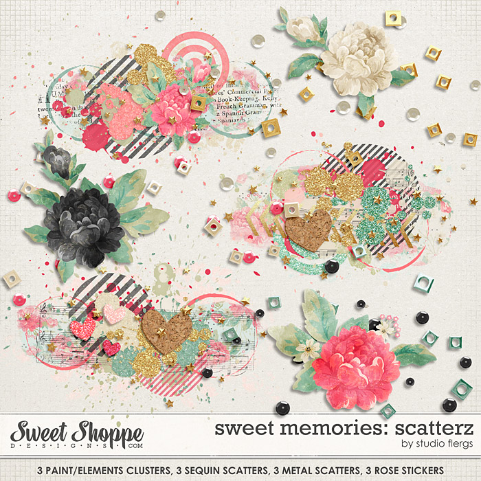 Sweet memories: SCATTERZ by Studio Flergs