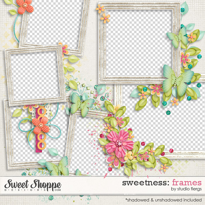 Sweetness: FRAMES by Studio Flergs