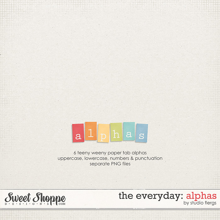 The Everyday: ALPHAS by Studio Flergs