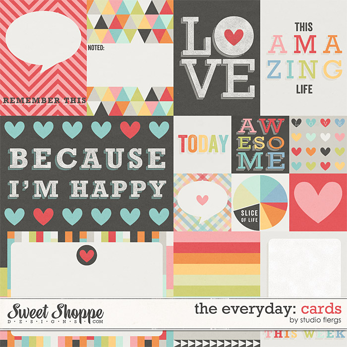 The Everyday: CARDS by Studio Flergs