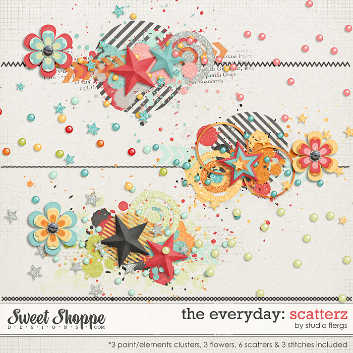 The Everyday: SCATTERZ by Studio Flergs