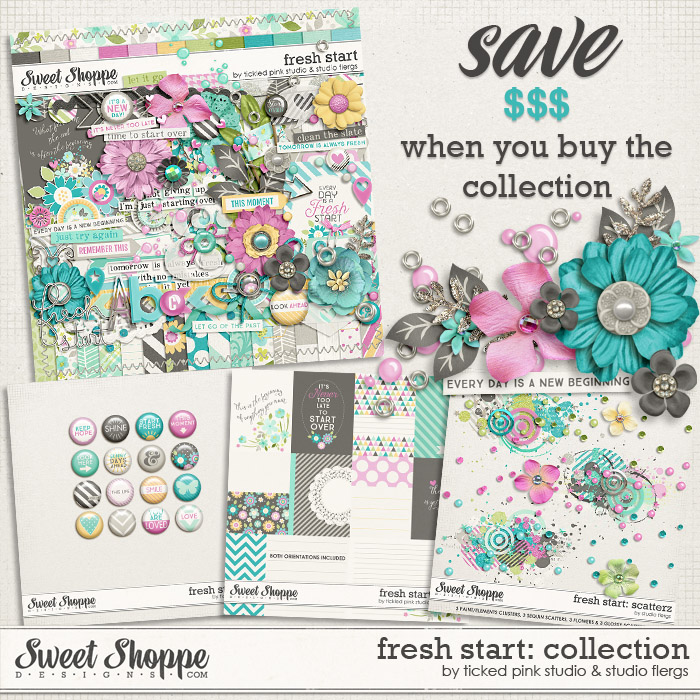 Fresh Start Bundle by Studio Flergs & Tickled Pink Studio