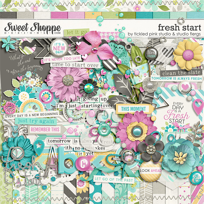 Fresh Start by Studio Flergs & Tickled Pink Studio