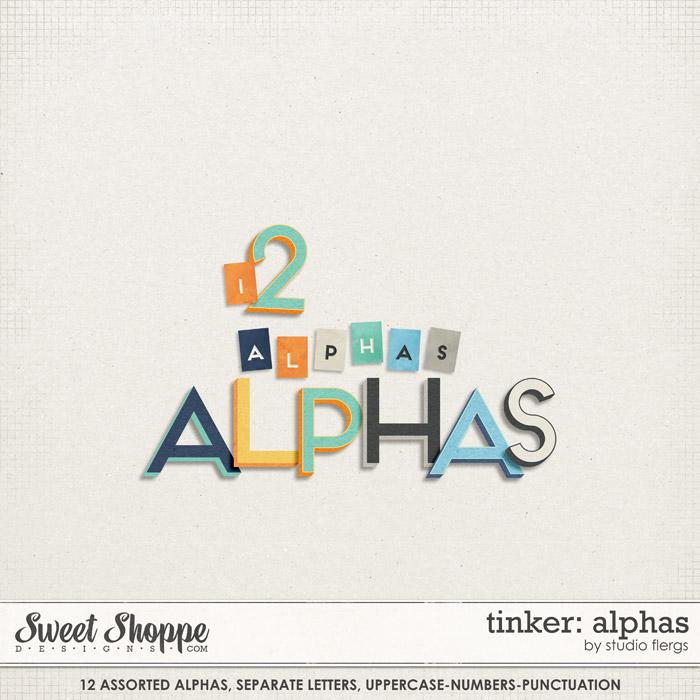 Tinker: ALPHAS by Studio Flergs
