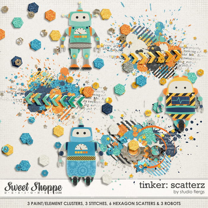 Tinker: SCATTERZ by Studio Flergs