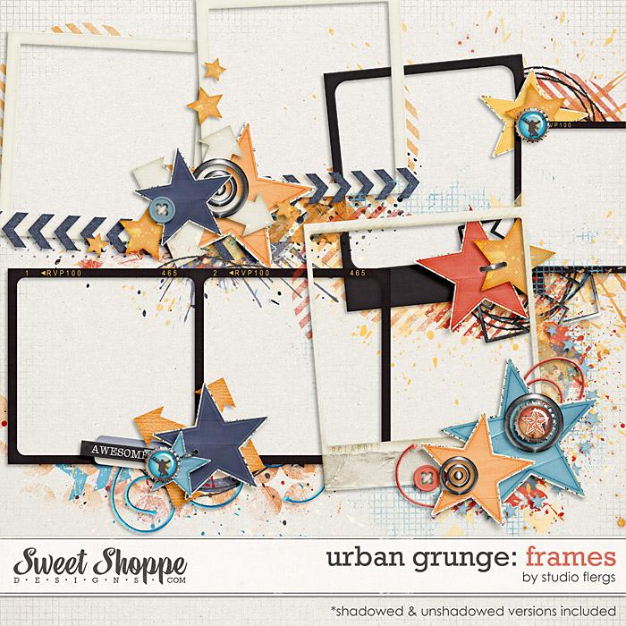 Urban Grunge: FRAMES by Studio Flergs