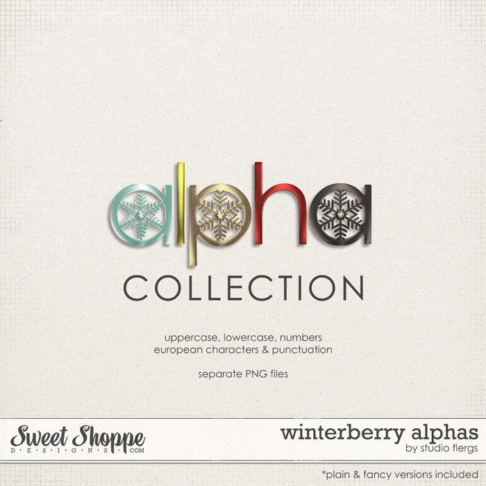Winterberry: ALPHAS by Studio Flergs