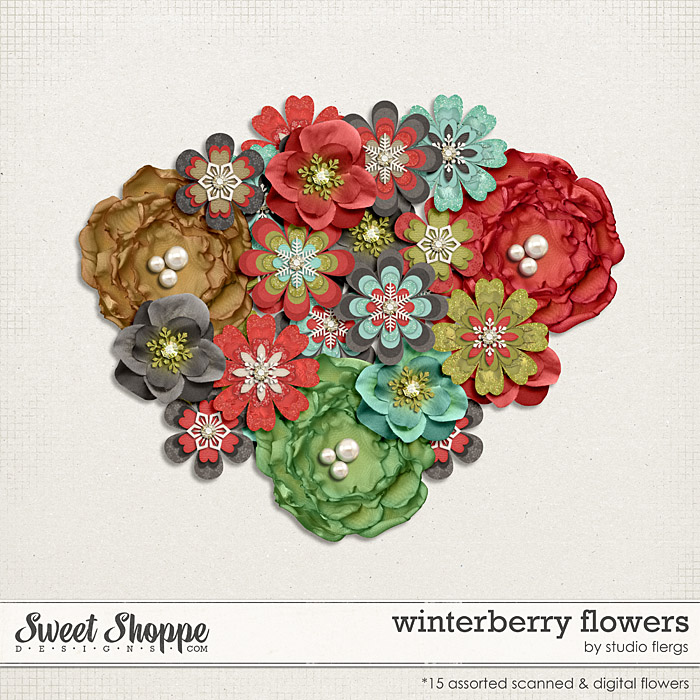 Winterberry: FLOWERS by Studio Flergs