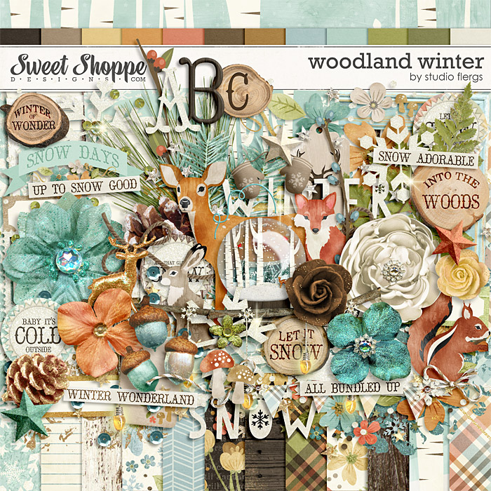 Woodland Winter by Studio Flergs
