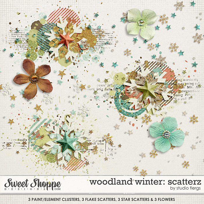 Woodland Winter: SCATTERZ by Studio Flergs