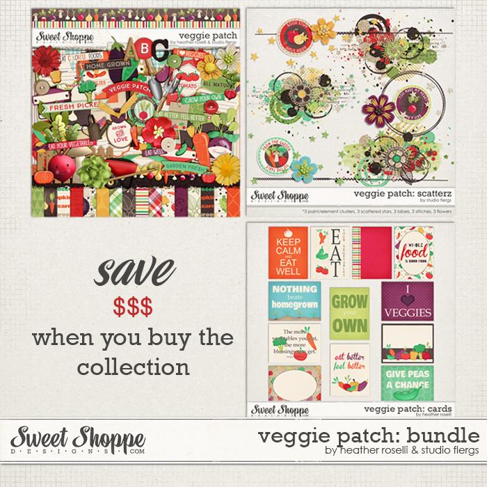 Veggie Patch: BUNDLE by Heather Roselli & Studio Flergs