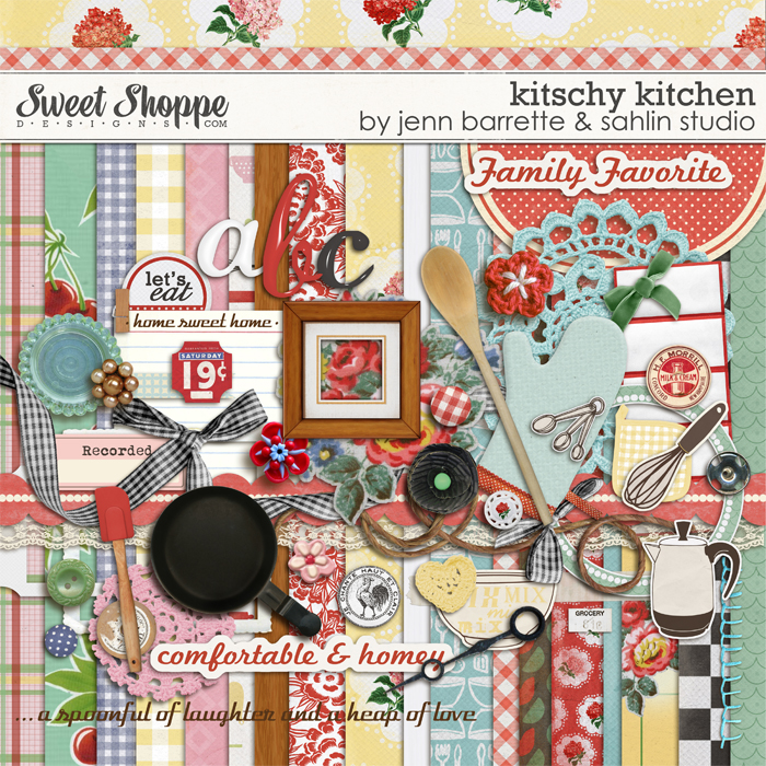 Kitschy Kitchen by Jenn Barrette and Sahlin Studio