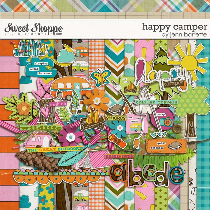 Happy Camper by Jenn Barrette