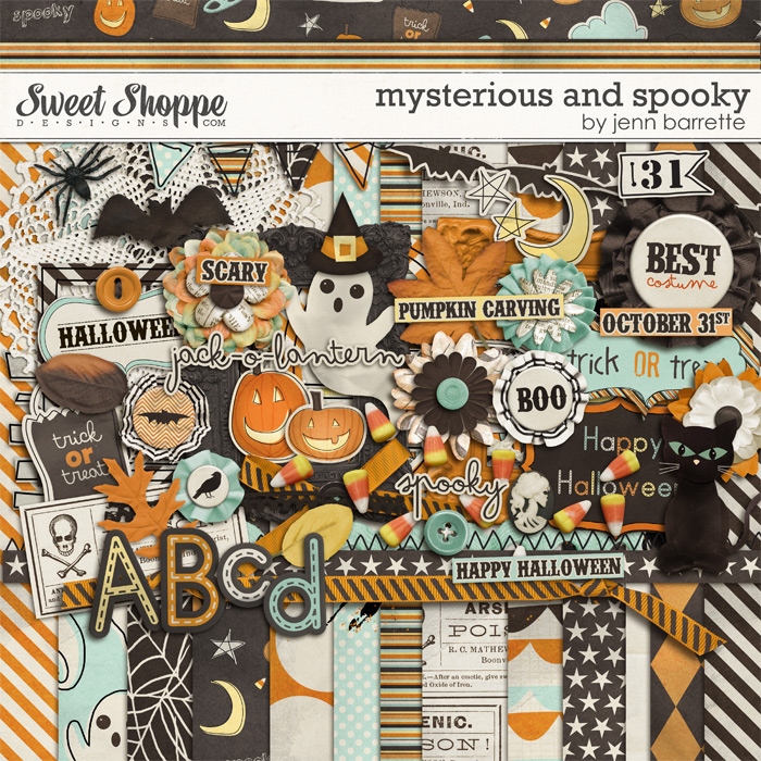 Mysterious and Spooky by Jenn Barrette