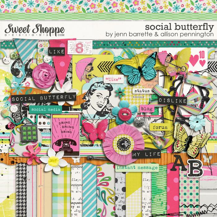 Social Butterfly by Jenn Barrette and Allison Pennington