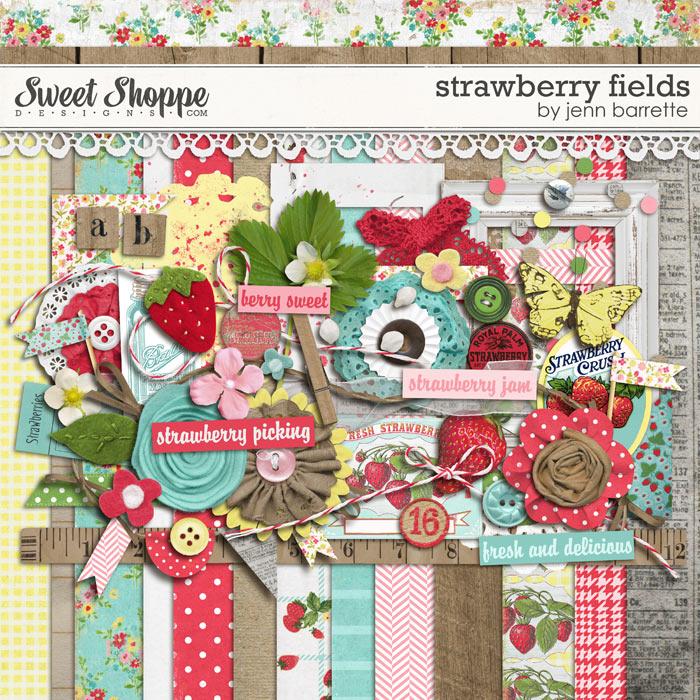 Strawberry Fields by Jenn Barrette