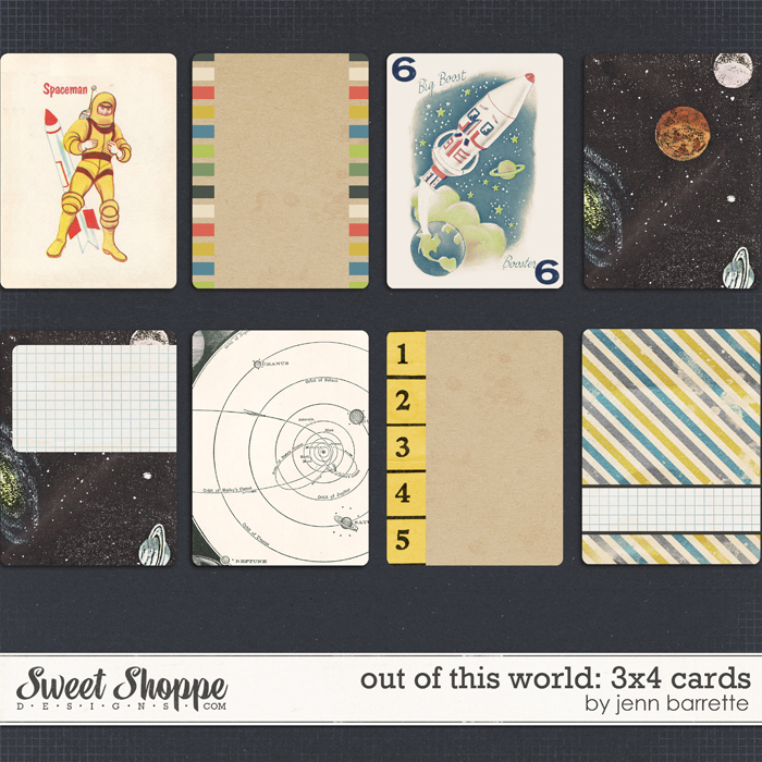 Out Of This World: 3x4 Cards