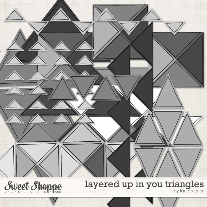 Layered up in You: Triangles by Lauren Grier
