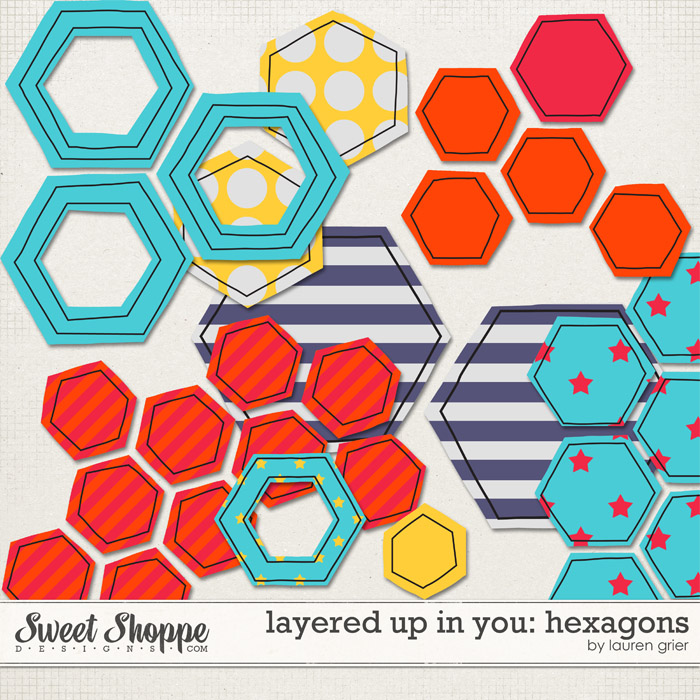 Layered up in You: Hexagons by Lauren Grier