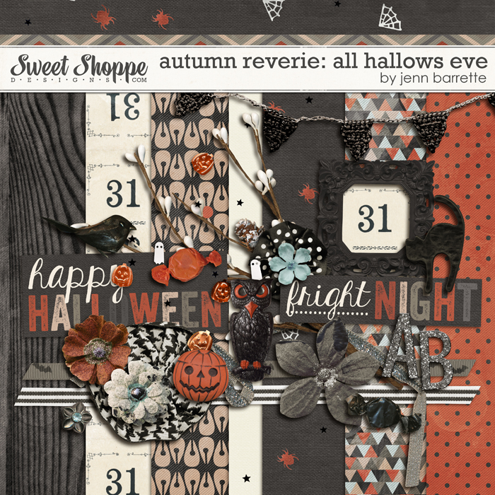 Autumn Reverie: All Hallows Eve by Jenn Barrette