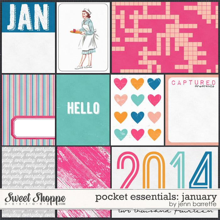 Pocket Essentials: January by Jenn Barrette