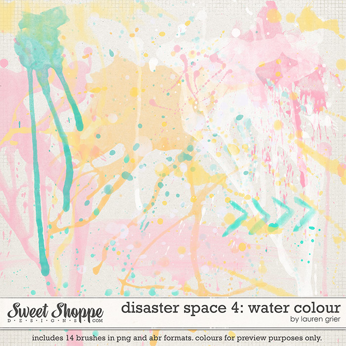 Disaster Space 4: Water Colour by lauren grier