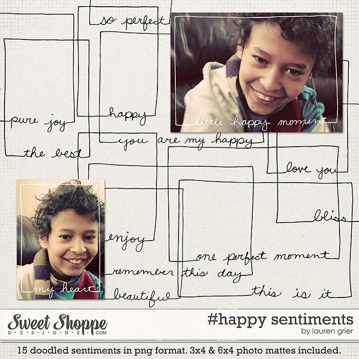 #happy sentiments by lauren grier
