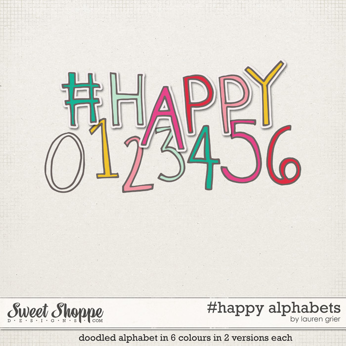 #happy alphabets by lauren grier