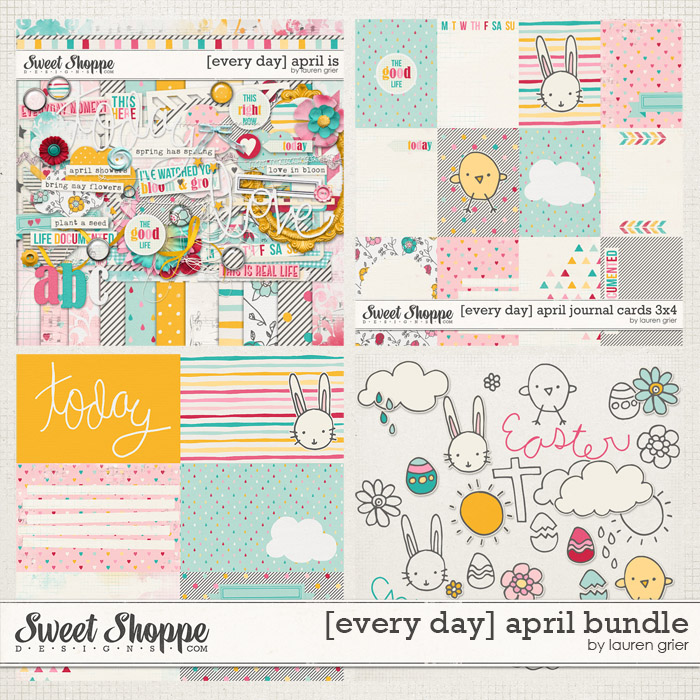 [every day] april bundle by lauren grier