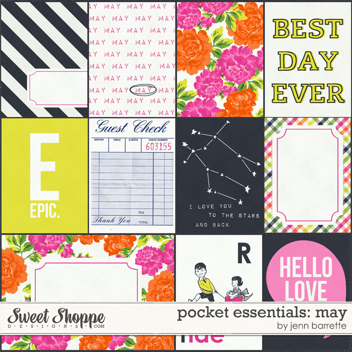 Pocket Essentials: May by Jenn Barrette