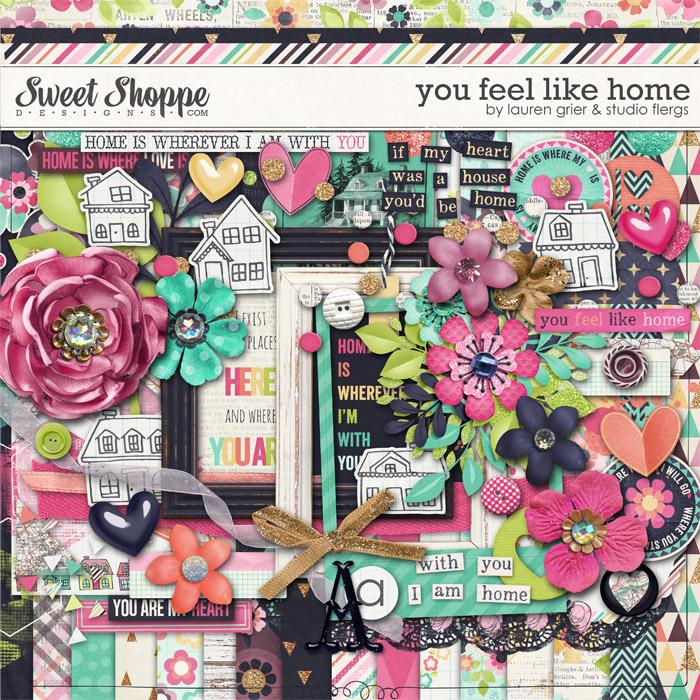 You Feel Like Home by Lauren Grier & Studio Flergs
