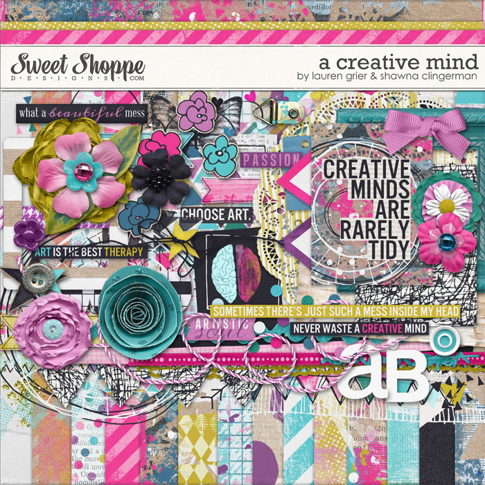 A Creative Mind by Shawna Clingerman and Lauren Grier