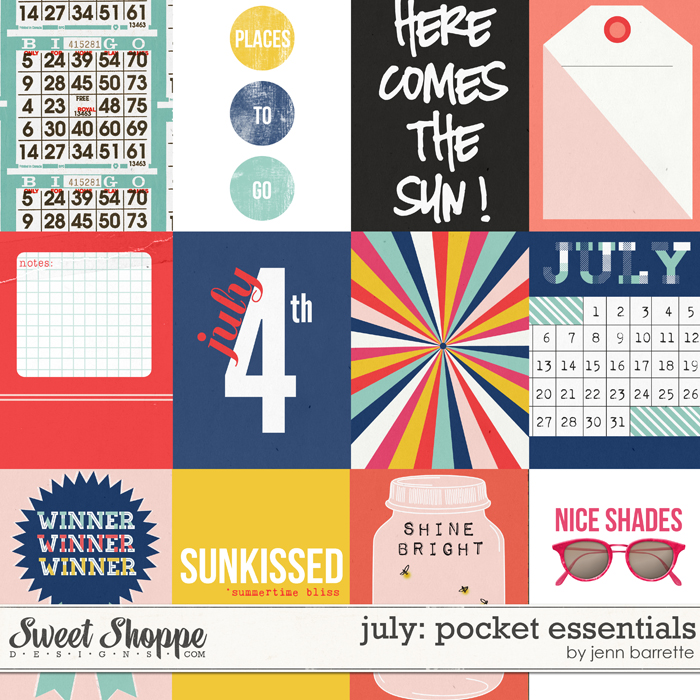 Pocket Essentials: July by Jenn Barrette