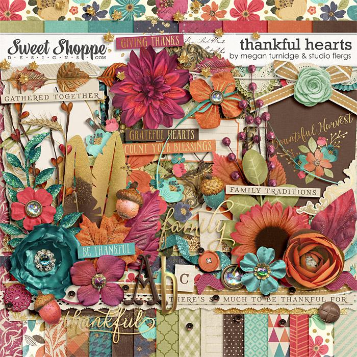 Thankful Hearts by Studio Flergs and Megan Turnidge