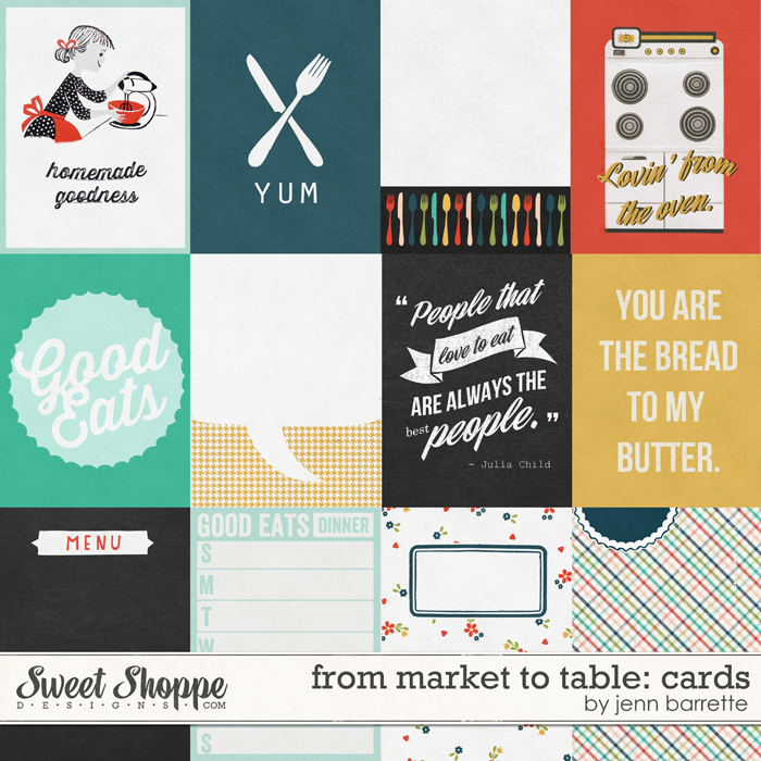 From Market To Table: Cards by Jenn Barrette