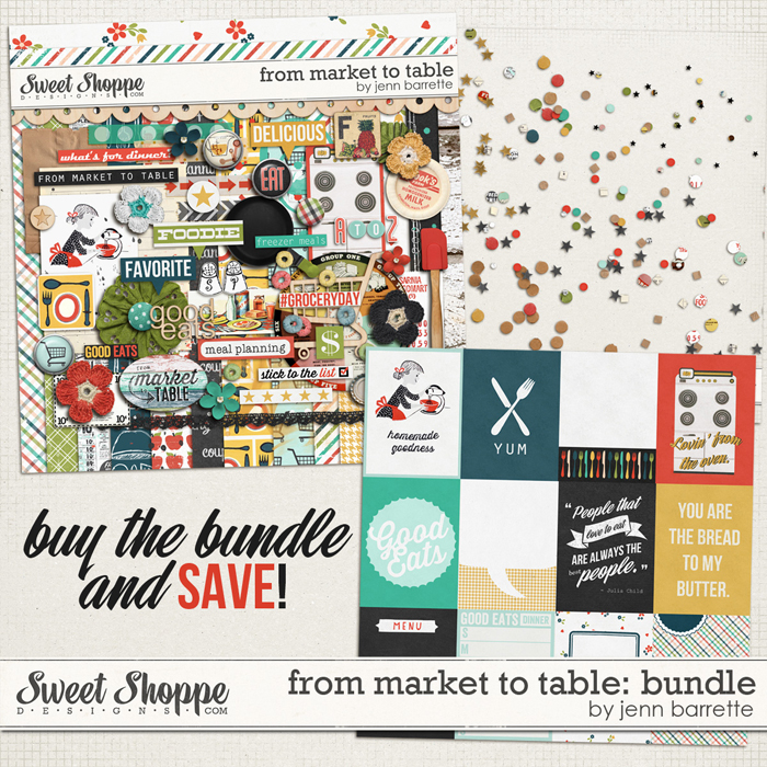 From Market To Table: Bundle by Jenn Barrette