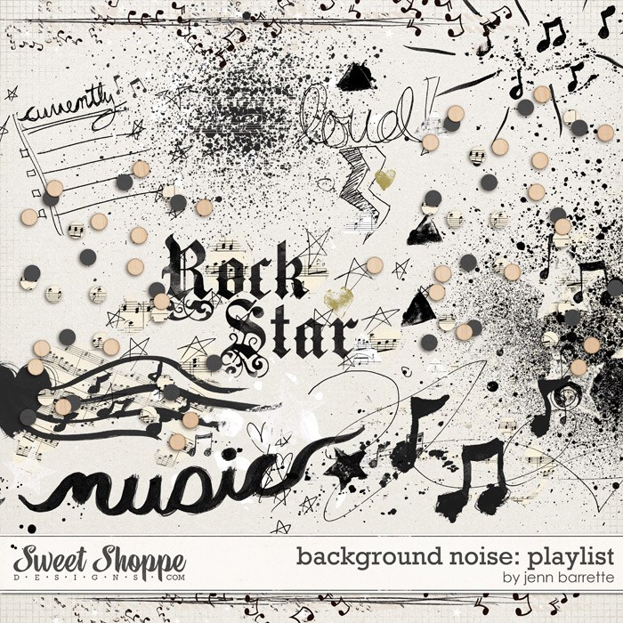 Background Noise: Playlist by Jenn Barrette