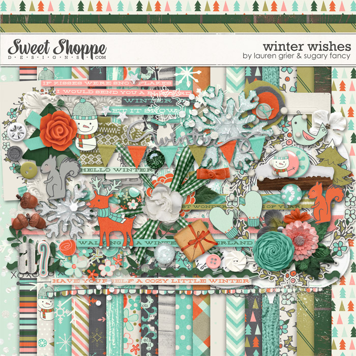 Winter Wishes by Lauren Grier & Sugary Fancy